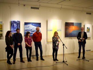 Widzowie podczas wystawy