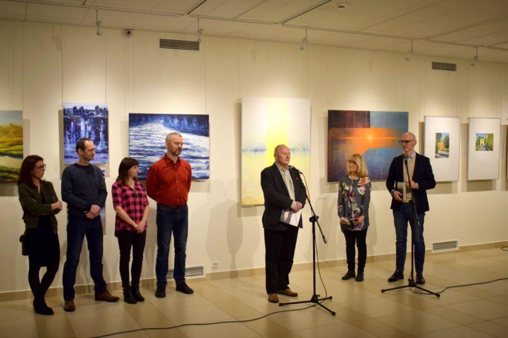 foto: Drohiczyn 2018 - wystawa poplenerowa w Galerii DOM - DSC 0110 1024x682