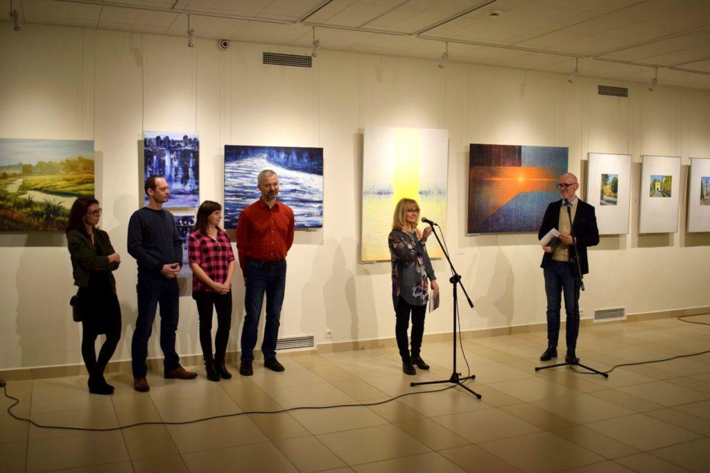 foto: Drohiczyn 2018 - wystawa poplenerowa w Galerii DOM - DSC 0115 1024x682