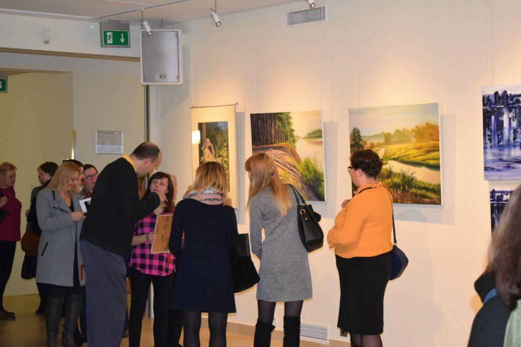 foto: Drohiczyn 2018 - wystawa poplenerowa w Galerii DOM - DSC 0130 1024x682