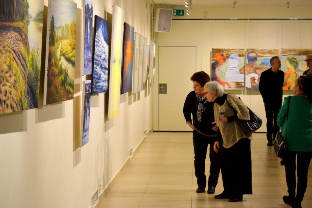 foto: Drohiczyn 2018 - wystawa poplenerowa w Galerii DOM - DSC 0147 1024x682