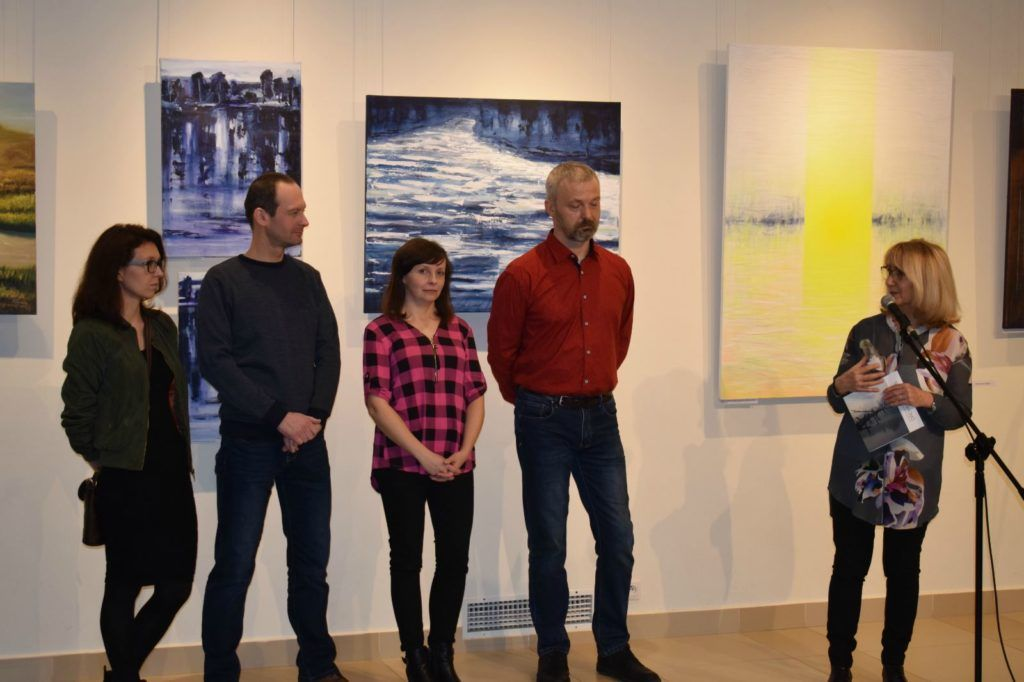 foto: Drohiczyn 2018 - wystawa poplenerowa w Galerii DOM - DSC 0104 1024x682