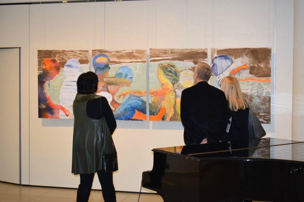foto: Drohiczyn 2018 - wystawa poplenerowa w Galerii DOM - DSC 0129 1024x682