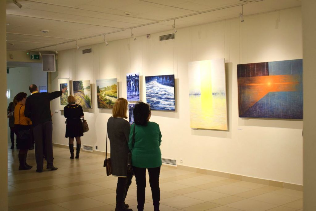 foto: Drohiczyn 2018 - wystawa poplenerowa w Galerii DOM - DSC 0134 1024x682