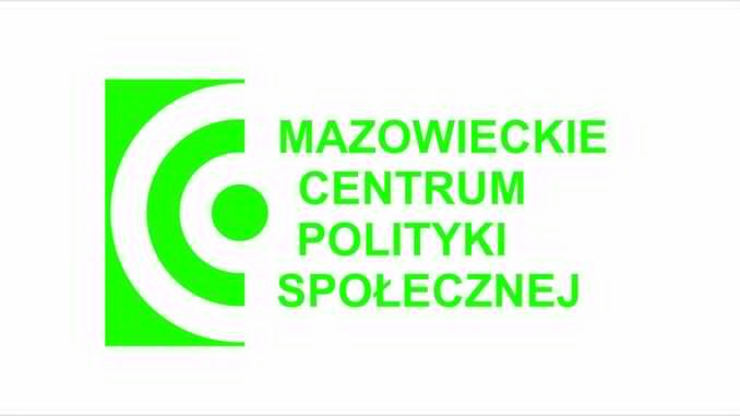 Logo Mazowieckie Centrum Polityki Społecznej