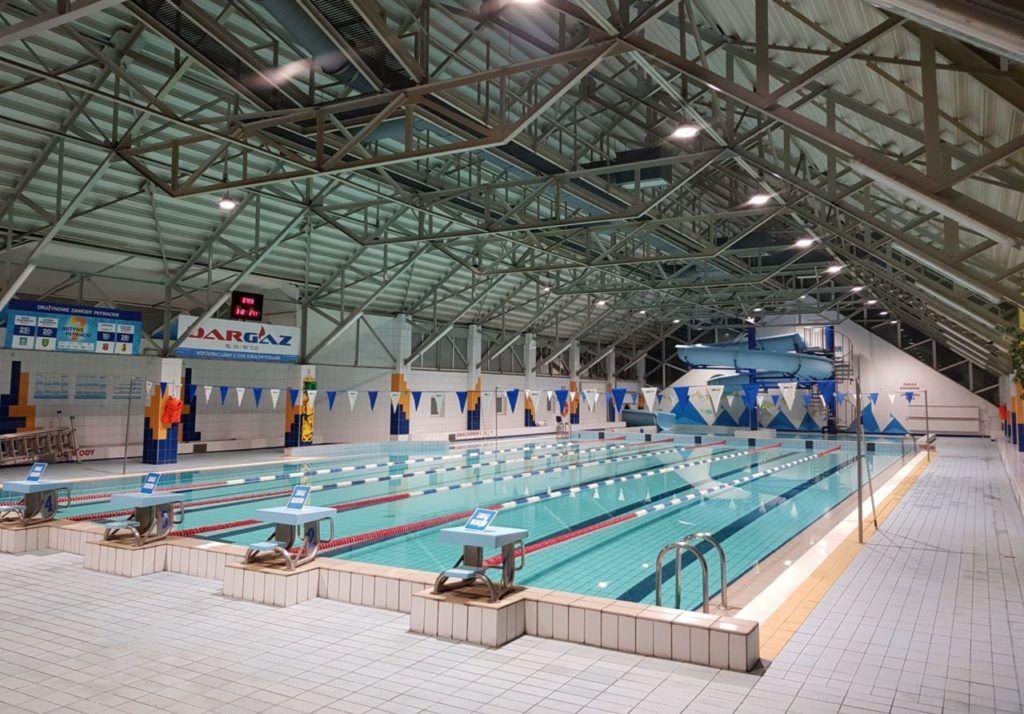 foto: Nowe oświetlenie na Pływalni - basen oswietlenie 2 1024x714