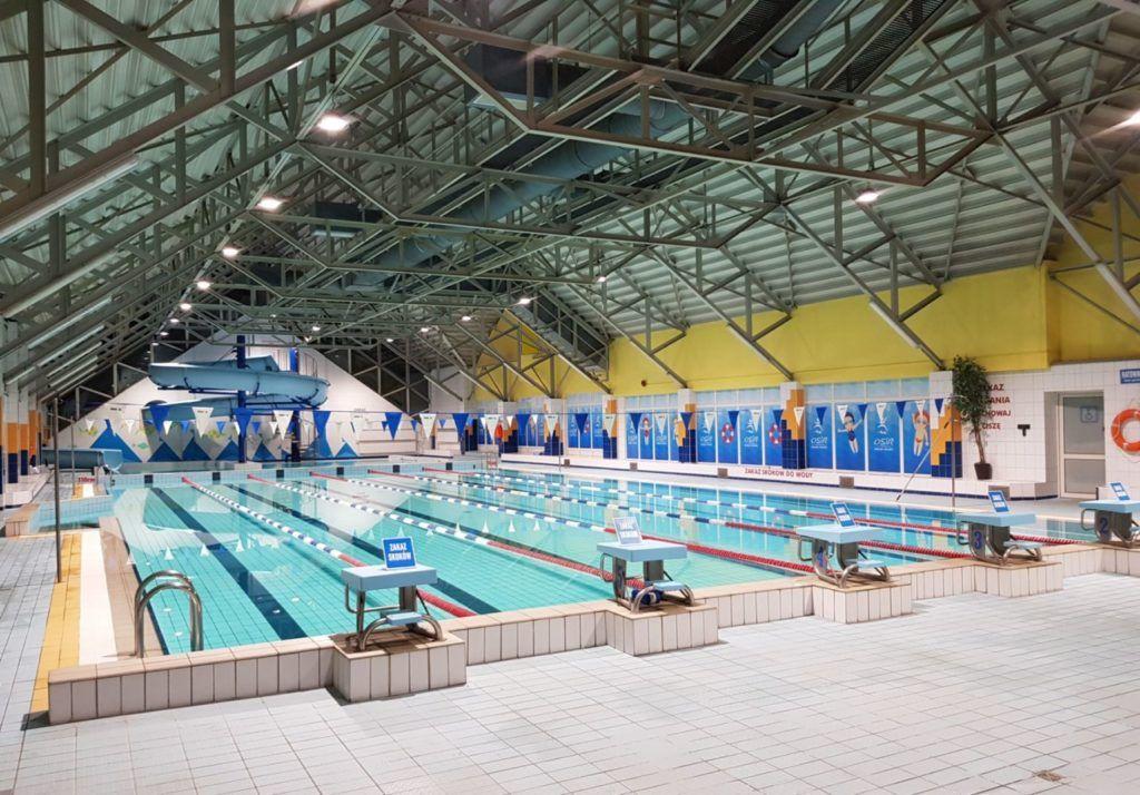 foto: Nowe oświetlenie na Pływalni - basen oswietlenie 3 1024x714