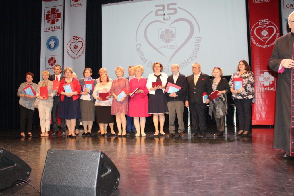 foto: Gala jubileuszowa 25-lecia Caritas Diecezji Drohiczyńskiej - IMG 5545 1024x682