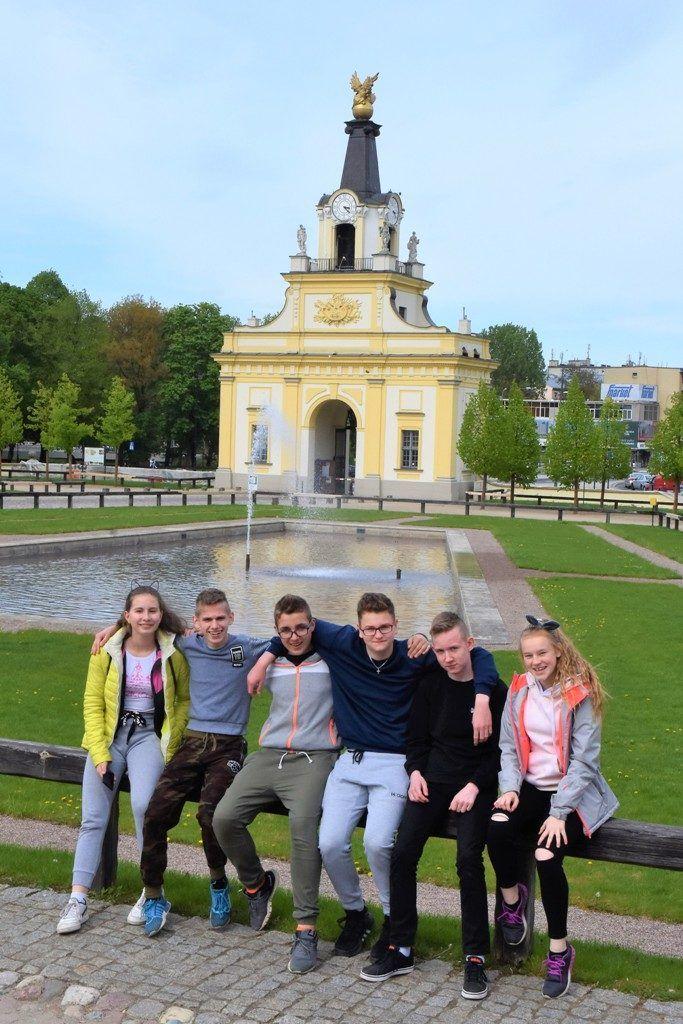 """foto: Kibice z """"Dwójki"""" na  Jagiellonii - 3 683x1024"""