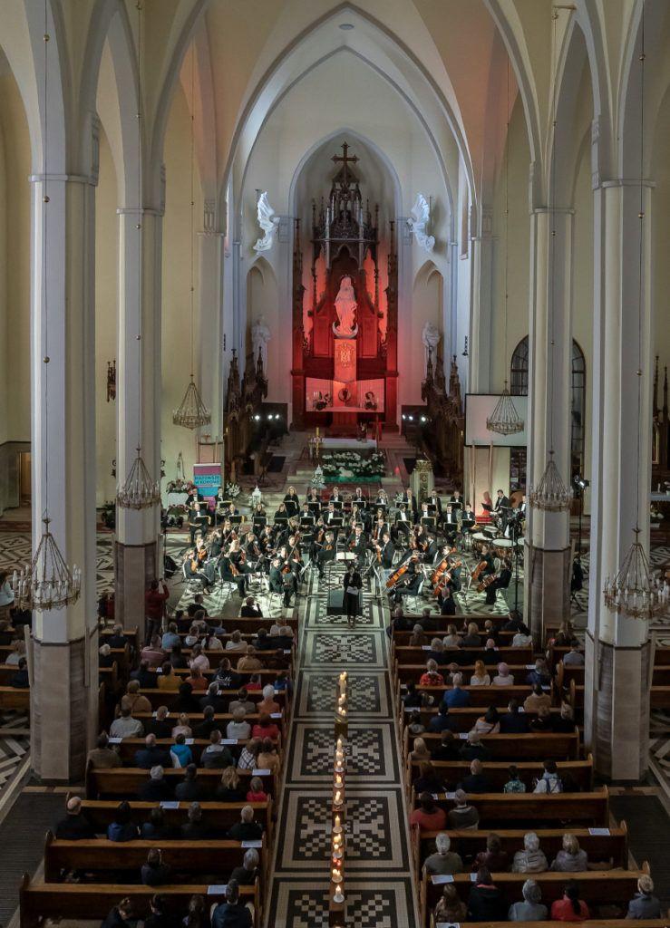foto: Koncert Sinfonia Viva w sokołowskiej konkatedrze - DSC8880 739x1024
