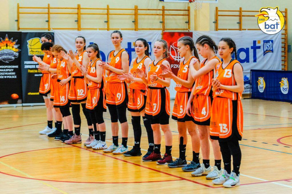 foto: Kadetki MPKK SOKOŁÓW S.A. OSIR  z 5 miejscem w finale Mistrzostw Polski do lat 16 - MPKK U16 team 1final 18 19 1024x682