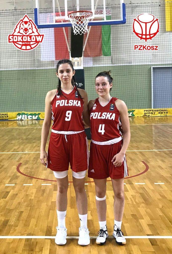 foto: Zawodniczki MPKK w Kadrze Polski do lat 16 zagrały przeciwko Białorusi - PolBia KoszU16 zaj jast 2019 693x1024