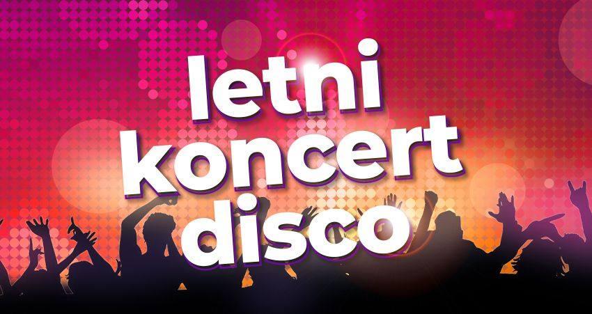 foto: Plakat promocyjny - letni koncert disco