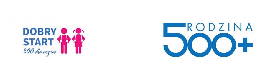 foto: Logo programu - 500 plus