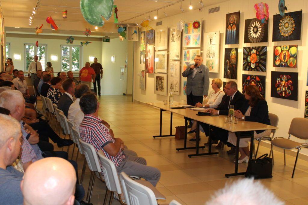 foto: Spotkanie z ministrem środowiska w SOK - IMG 7477 1024x682