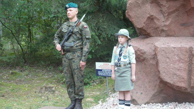 Sokołowscy harcerze w Treblince