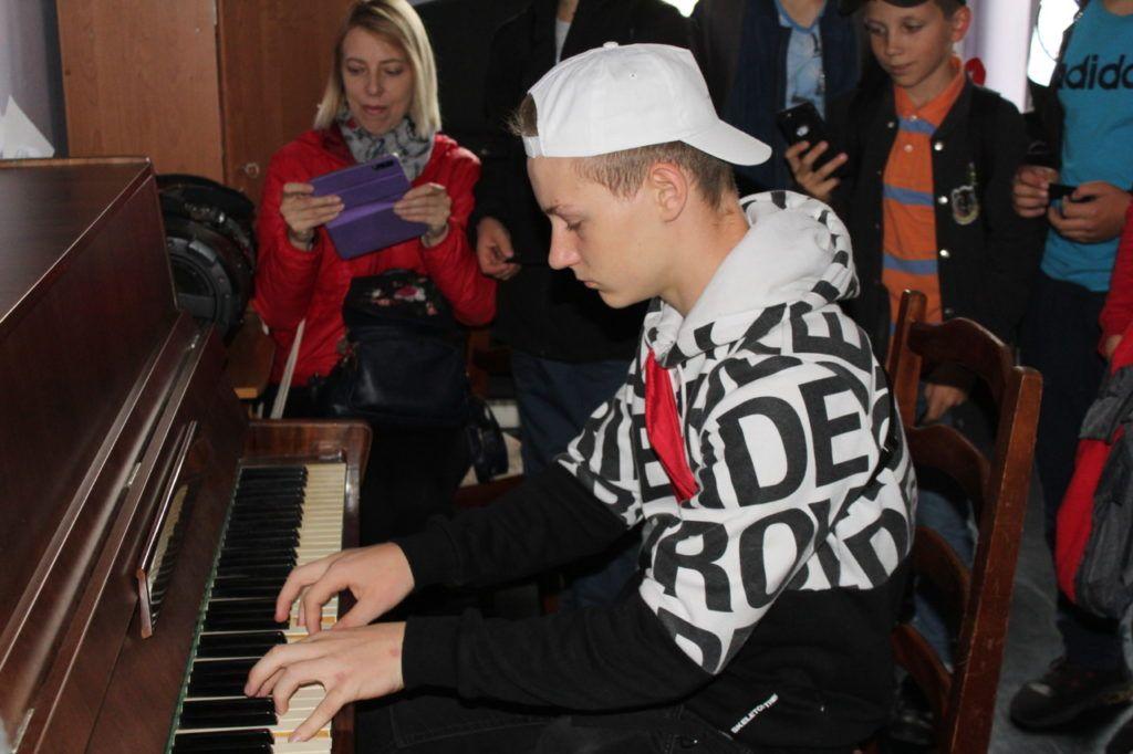 foto: Młodzież z Jekabpils z wizytą w UM - IMG 8159 1 1024x682