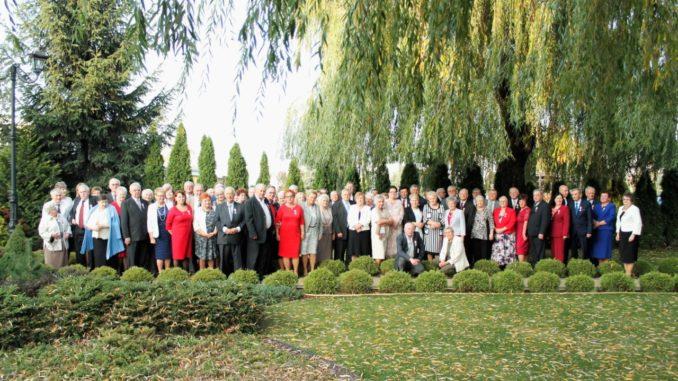 Jubilaci podczas uroczystości