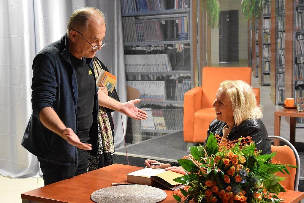 foto: Spotkanie autorskie Anny Lisieckiej w MBP - 18a 1024x683