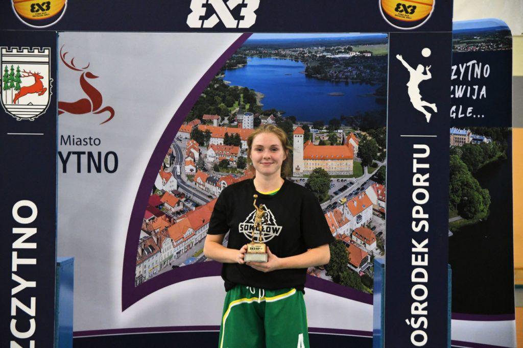 foto: Złoty medal Juniorek MPKK Sokołów S.A. na Halowych Mistrzostwach Polski w koszykówce 3x3 2019 - HMP 3x3 U18K 2019 Welenc 1024x682