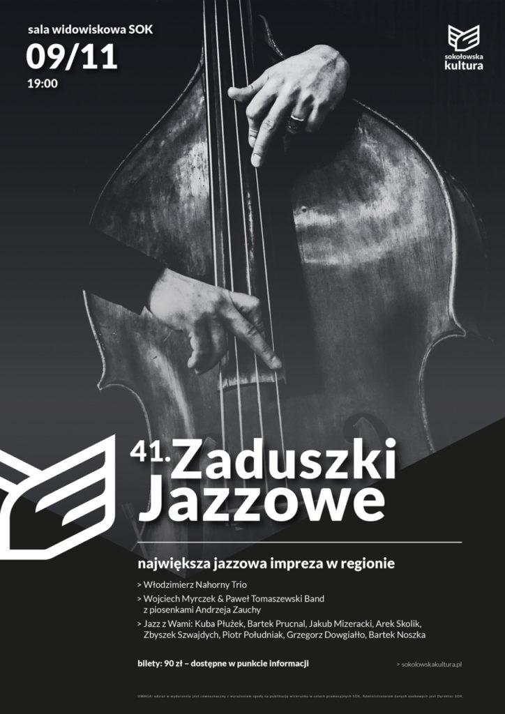 foto: 41. Zaduszki Jazzowe w Sokołowie Podlaskim - zaduszki2019 724x1024
