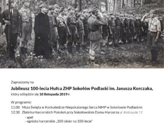 Historyczne zdjęcie Hufca ZHP
