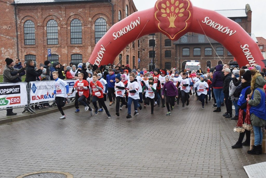 """foto: Drugi rok z rzędu 100 młodych biegaczy z """" Dwójki"""" w Biegu Niepodległości - DSC 5221 1024x683"""