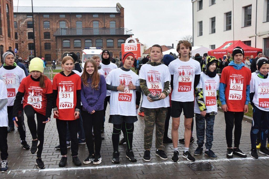 """foto: Drugi rok z rzędu 100 młodych biegaczy z """" Dwójki"""" w Biegu Niepodległości - DSC 5231 1024x683"""