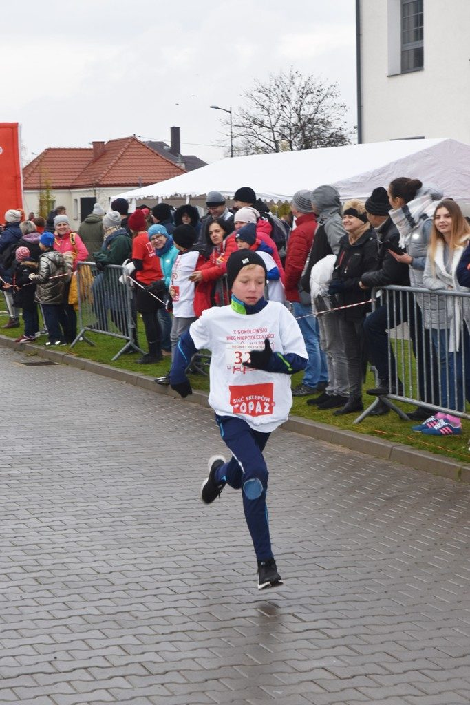 """foto: Drugi rok z rzędu 100 młodych biegaczy z """" Dwójki"""" w Biegu Niepodległości - DSC 5241 683x1024"""