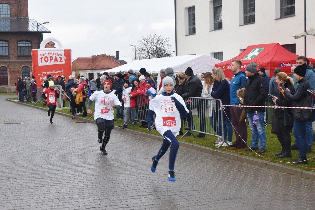 """foto: Drugi rok z rzędu 100 młodych biegaczy z """" Dwójki"""" w Biegu Niepodległości - DSC 5242 1024x683"""