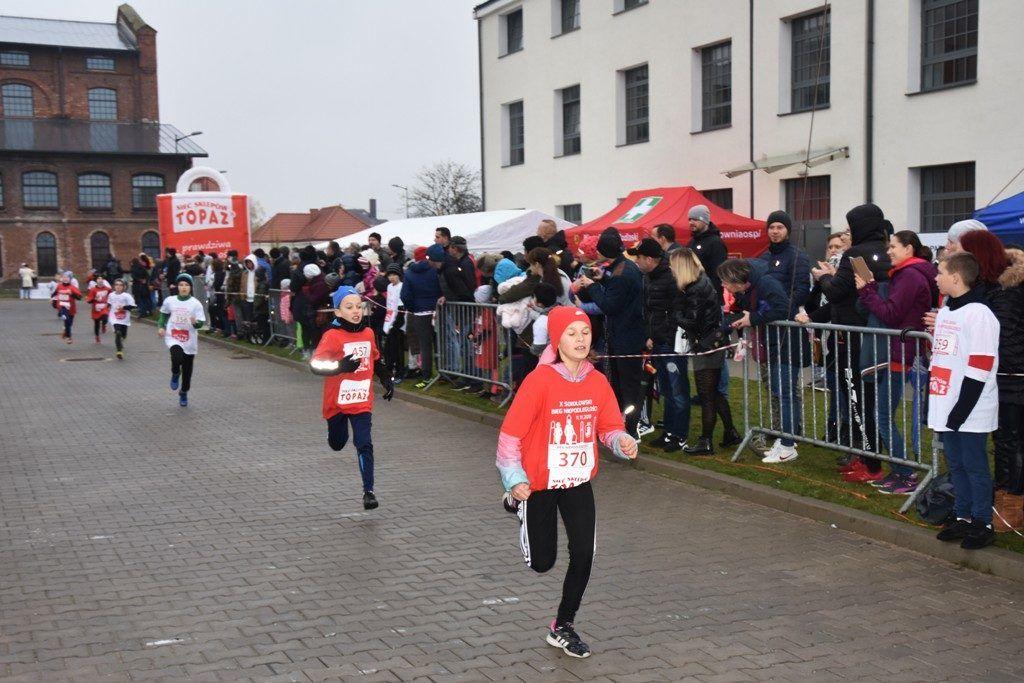 """foto: Drugi rok z rzędu 100 młodych biegaczy z """" Dwójki"""" w Biegu Niepodległości - DSC 5208 1024x683"""