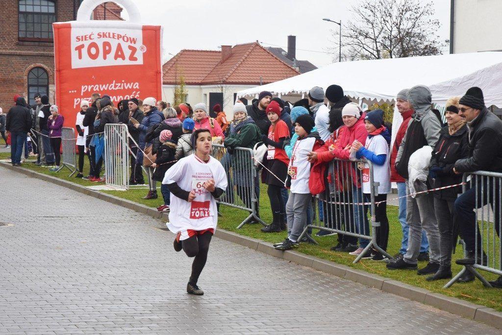 """foto: Drugi rok z rzędu 100 młodych biegaczy z """" Dwójki"""" w Biegu Niepodległości - DSC 5240 1024x683"""