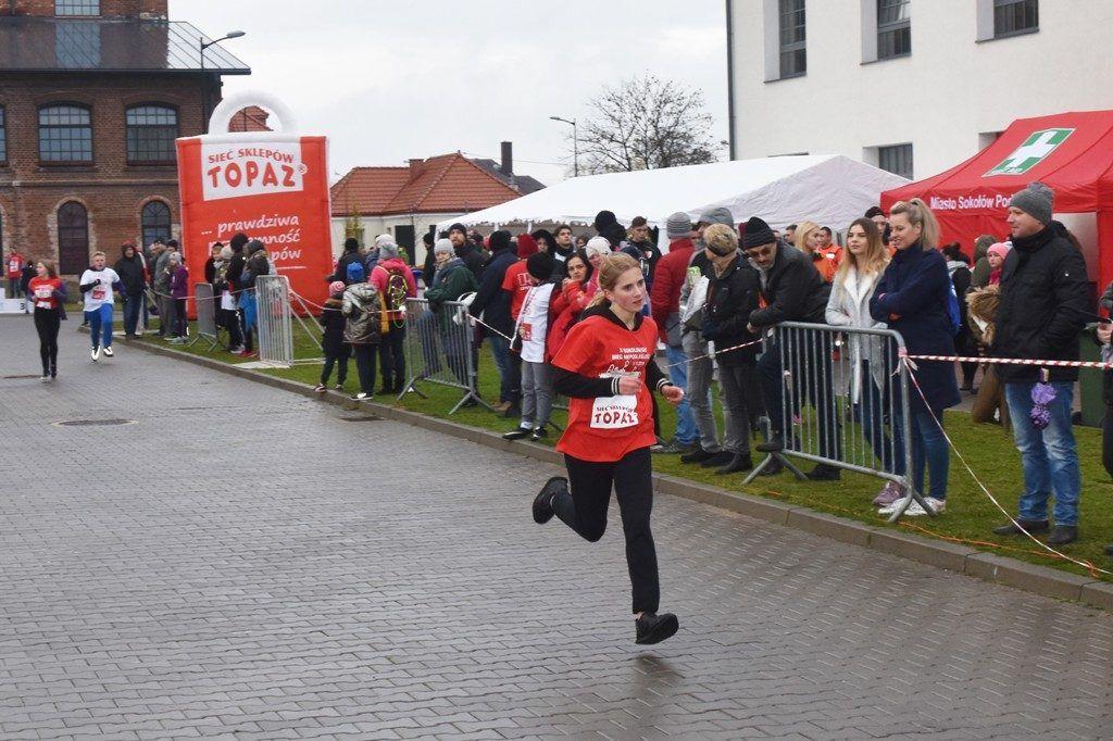 """foto: Drugi rok z rzędu 100 młodych biegaczy z """" Dwójki"""" w Biegu Niepodległości - DSC 5243 1024x682"""