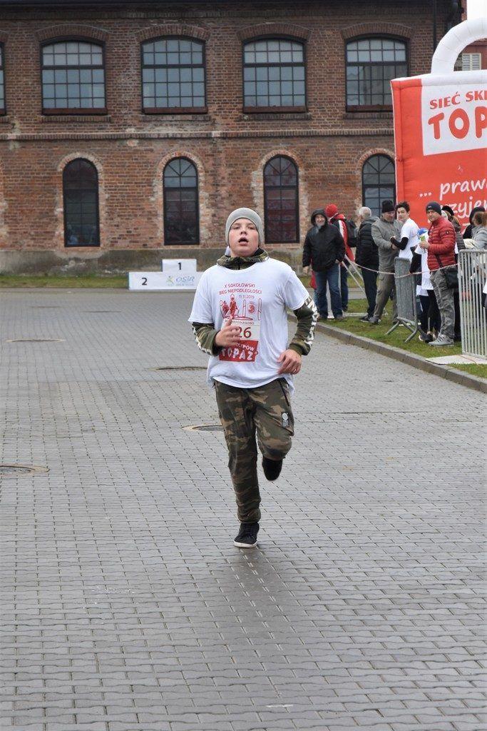 """foto: Drugi rok z rzędu 100 młodych biegaczy z """" Dwójki"""" w Biegu Niepodległości - DSC 5244 683x1024"""