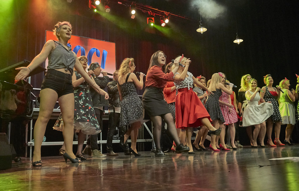 foto: Ach ten Broadway w wykonaniu Voci Cantati - DSC8803 1024x655
