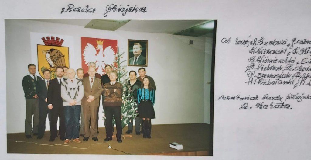 foto: Pamięci prof. Henryka Wiśniewolskiego - Rada Miejska 1990 1024x526