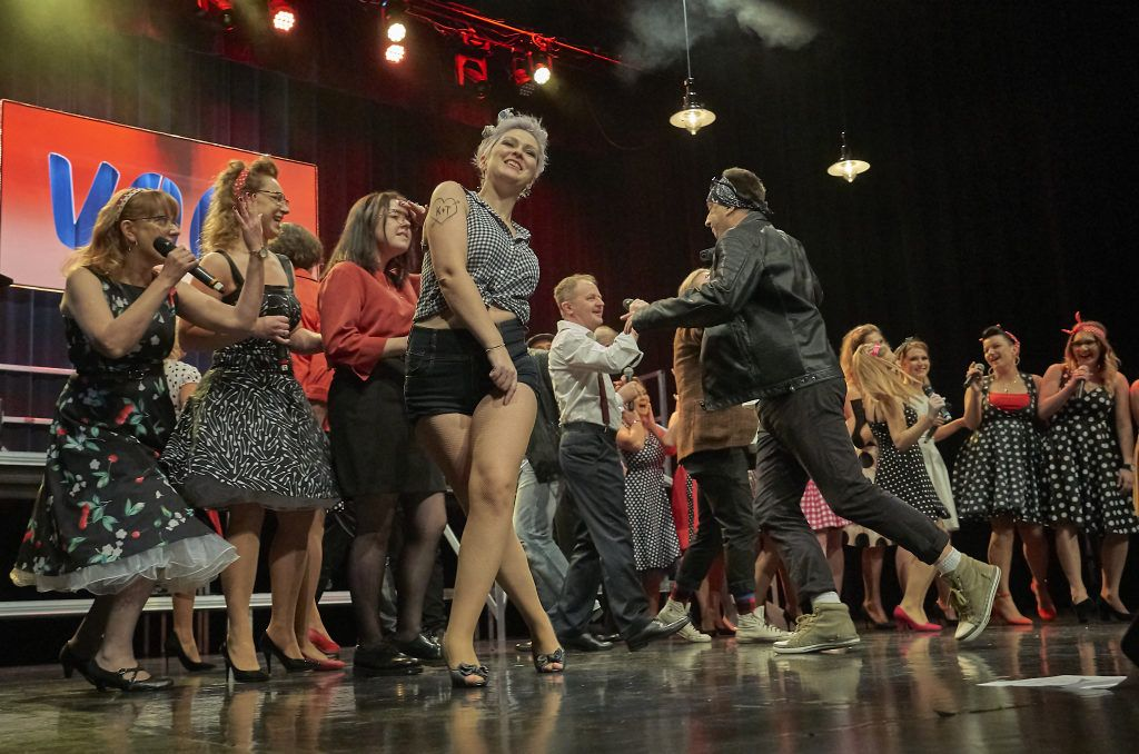 foto: Ach ten Broadway w wykonaniu Voci Cantati - DSC8807 1024x678