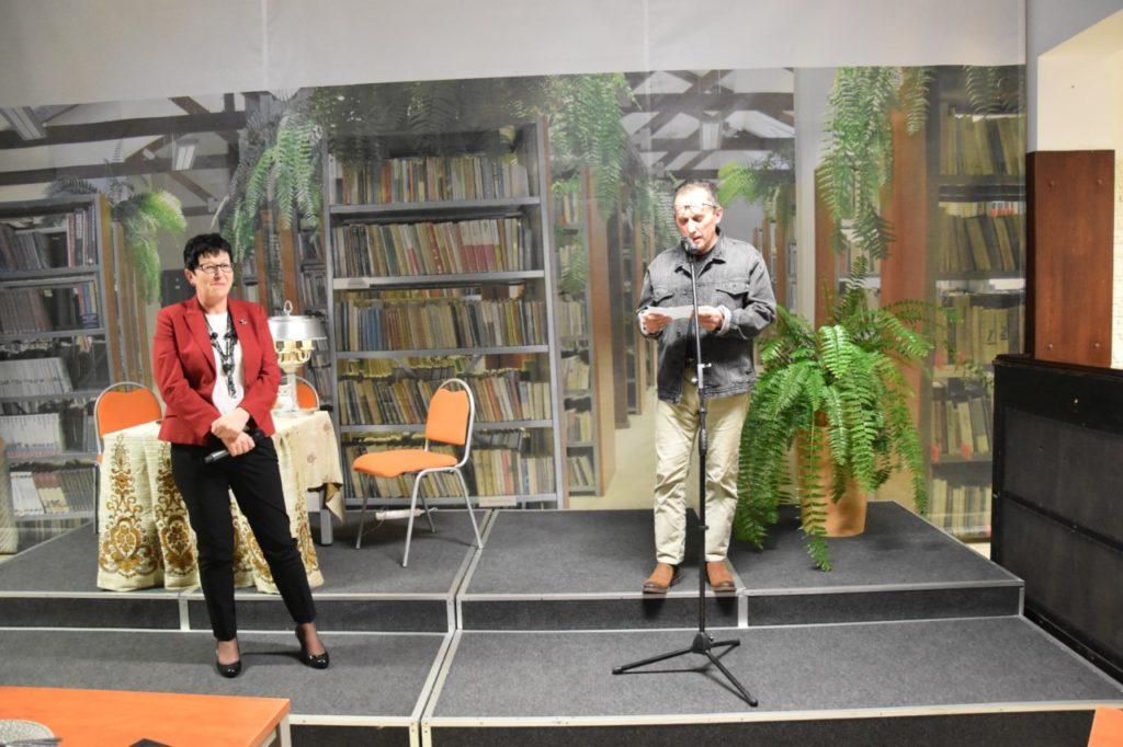 foto: Spotkanie z twórczością Wiesławy Kwiek w MBP - 9 1024x682