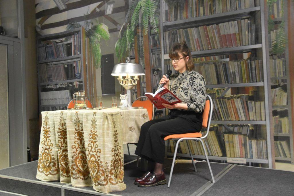 foto: Spotkanie z twórczością Wiesławy Kwiek w MBP - 7 1024x682