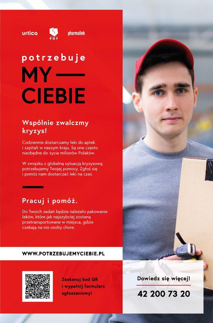 foto: Plakat informacyjny - Potrzebujemy Ciebie plakat
