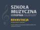 Rekrutacja do Szkoły Muzycznej - plakat