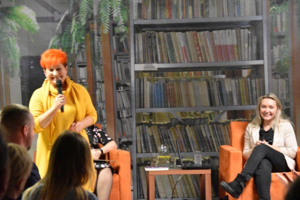 foto: Spotkanie z Joanną Godecką w MBP - 1 1024x682
