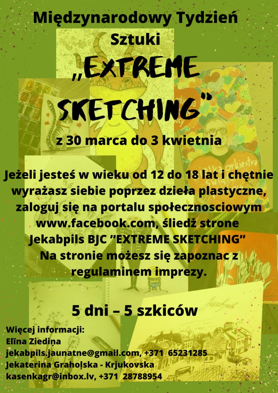 Extreme Sketching