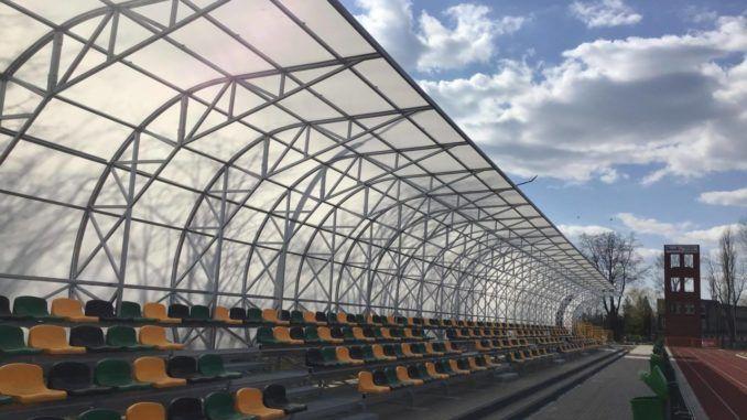 Nowe trybuny na stadionie