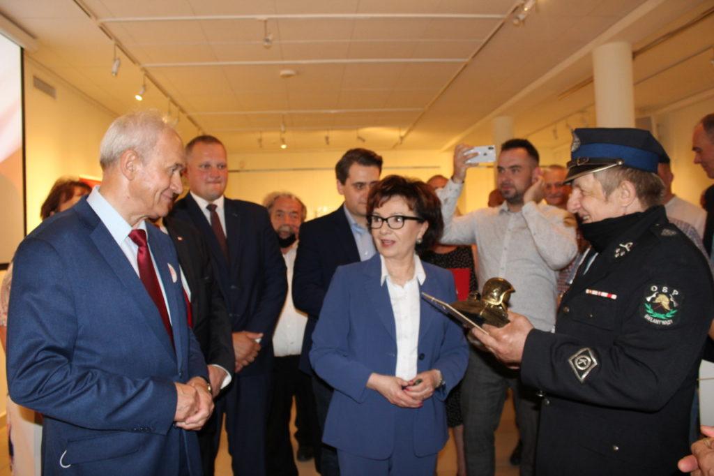foto: Marszałek Elżbieta Witek w Sokołowie - IMG 1259 1024x682
