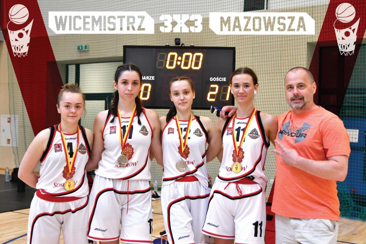 foto:  - WiceMistrzynie Mazowsza 3x3 17 2020