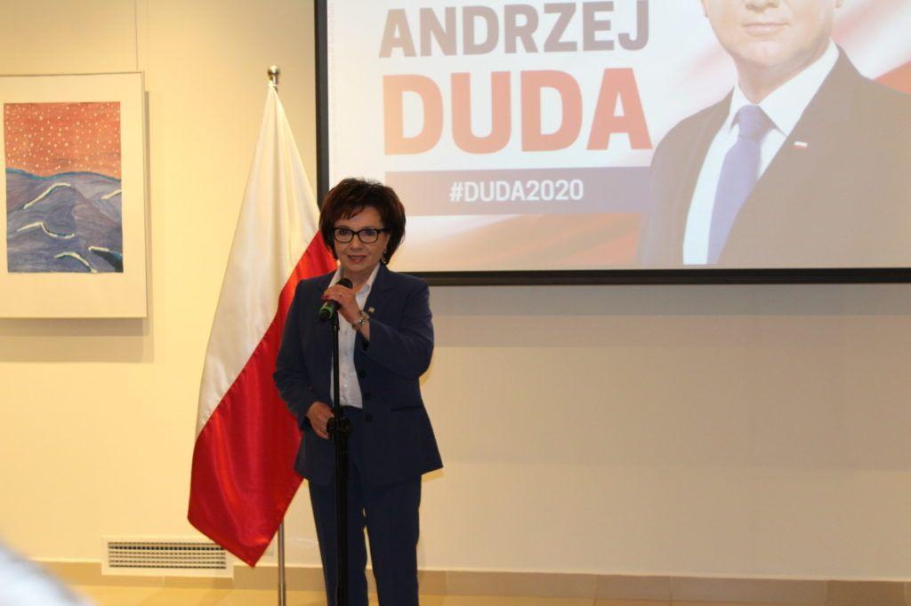 foto: Marszałek Elżbieta Witek w Sokołowie - IMG 1232 1024x682