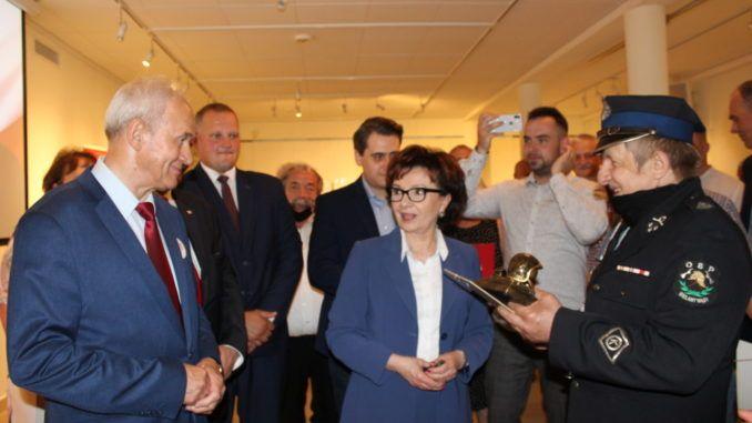 Marszałek Elżbieta Witek w Sokołowie