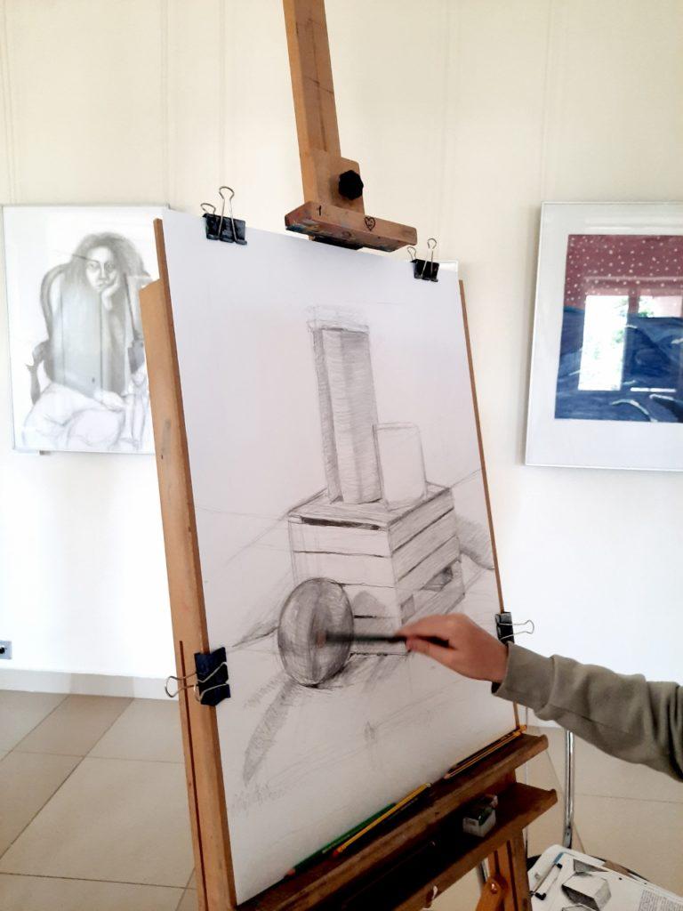 foto: Letni kurs rysunku w SOK - 01 4 768x1024