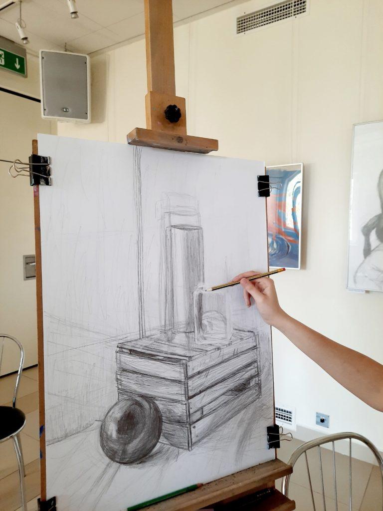 foto: Letni kurs rysunku w SOK - 16 3 768x1024